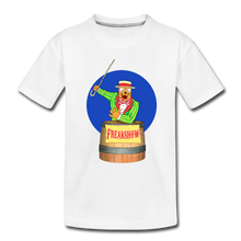 Load image into Gallery viewer, Twitch Carnival Barker - Toddler Premium T-Shirt - white