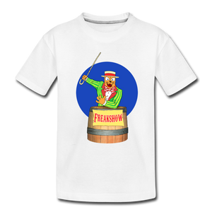 Twitch Carnival Barker - Toddler Premium T-Shirt - white