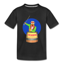 Load image into Gallery viewer, Twitch Carnival Barker - Toddler Premium T-Shirt - black