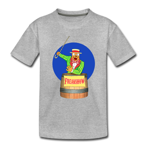 Twitch Carnival Barker - Toddler Premium T-Shirt - heather gray