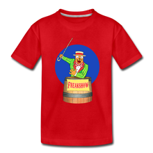 Load image into Gallery viewer, Twitch Carnival Barker - Toddler Premium T-Shirt - red