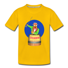 Load image into Gallery viewer, Twitch Carnival Barker - Toddler Premium T-Shirt - sun yellow