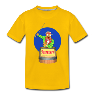 Twitch Carnival Barker - Toddler Premium T-Shirt - sun yellow
