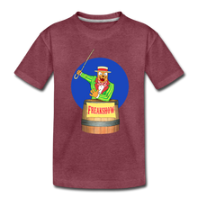 Load image into Gallery viewer, Twitch Carnival Barker - Toddler Premium T-Shirt - heather burgundy