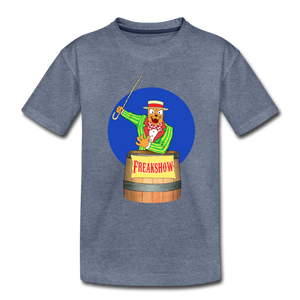 Twitch Carnival Barker - Toddler Premium T-Shirt - heather blue