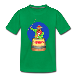 Twitch Carnival Barker - Toddler Premium T-Shirt - kelly green