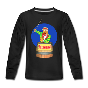 Twitch Carnival Barker - Kids' Premium Long Sleeve T-Shirt - black