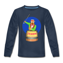 Load image into Gallery viewer, Twitch Carnival Barker - Kids' Premium Long Sleeve T-Shirt - navy