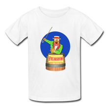 Load image into Gallery viewer, Twitch Carnival Barker - Kids' T-Shirt - white
