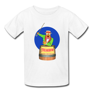 Twitch Carnival Barker - Kids' T-Shirt - white