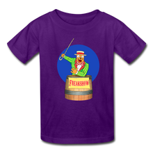 Load image into Gallery viewer, Twitch Carnival Barker - Kids' T-Shirt - purple