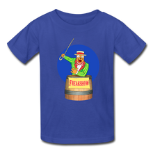 Load image into Gallery viewer, Twitch Carnival Barker - Kids' T-Shirt - royal blue