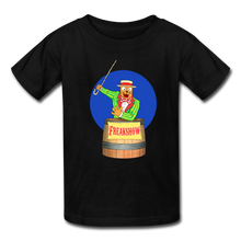 Load image into Gallery viewer, Twitch Carnival Barker - Kids' T-Shirt - black