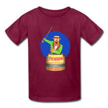 Load image into Gallery viewer, Twitch Carnival Barker - Kids' T-Shirt - burgundy