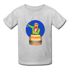 Load image into Gallery viewer, Twitch Carnival Barker - Kids' T-Shirt - heather gray