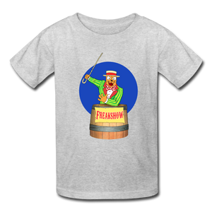 Twitch Carnival Barker - Kids' T-Shirt - heather gray