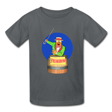 Load image into Gallery viewer, Twitch Carnival Barker - Kids' T-Shirt - charcoal