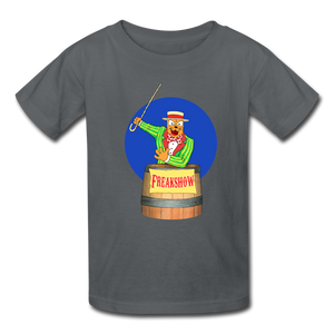 Twitch Carnival Barker - Kids' T-Shirt - charcoal
