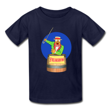 Load image into Gallery viewer, Twitch Carnival Barker - Kids' T-Shirt - navy