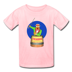Twitch Carnival Barker - Kids' T-Shirt - pink