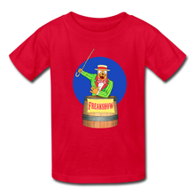 Load image into Gallery viewer, Twitch Carnival Barker - Kids' T-Shirt - red