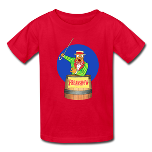 Twitch Carnival Barker - Kids' T-Shirt - red