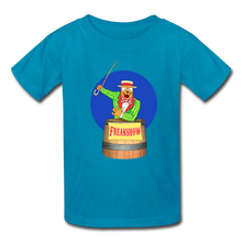 Load image into Gallery viewer, Twitch Carnival Barker - Kids' T-Shirt - turquoise