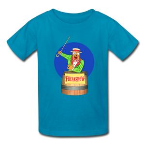 Twitch Carnival Barker - Kids' T-Shirt - turquoise