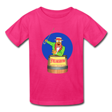 Load image into Gallery viewer, Twitch Carnival Barker - Kids' T-Shirt - fuchsia