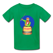 Load image into Gallery viewer, Twitch Carnival Barker - Kids' T-Shirt - kelly green