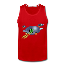 Load image into Gallery viewer, Alien Pee - Men's Premium Tank - red
