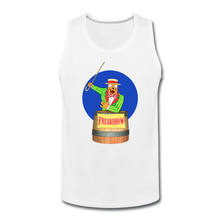 Load image into Gallery viewer, Retro Freakshow Poster - Men's Premium Tank - white