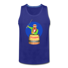 Load image into Gallery viewer, Retro Freakshow Poster - Men's Premium Tank - royal blue