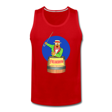 Load image into Gallery viewer, Retro Freakshow Poster - Men's Premium Tank - red