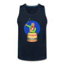 Load image into Gallery viewer, Retro Freakshow Poster - Men's Premium Tank - deep navy