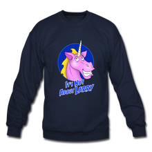 Load image into Gallery viewer, It's Not About Larry Larry - Crewneck Sweatshirt - navy