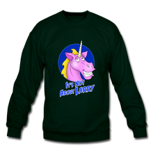 Load image into Gallery viewer, It's Not About Larry Larry - Crewneck Sweatshirt - forest green