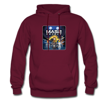 Load image into Gallery viewer, Mass Defect - Men's Hoodie - burgundy