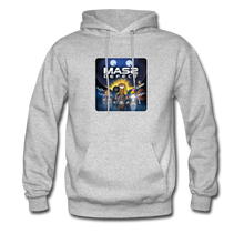 Load image into Gallery viewer, Mass Defect - Men's Hoodie - heather gray