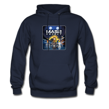 Load image into Gallery viewer, Mass Defect - Men's Hoodie - navy