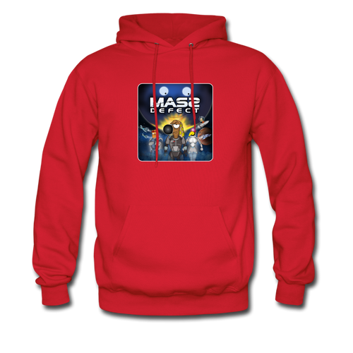 Mass Defect - Men's Hoodie - red