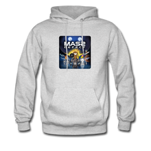 Load image into Gallery viewer, Mass Defect - Men's Hoodie - ash
