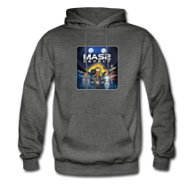 Load image into Gallery viewer, Mass Defect - Men's Hoodie - charcoal gray