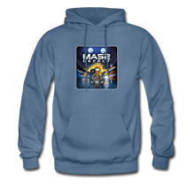 Load image into Gallery viewer, Mass Defect - Men's Hoodie - denim blue