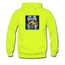 Load image into Gallery viewer, Mass Defect - Men's Hoodie - safety green