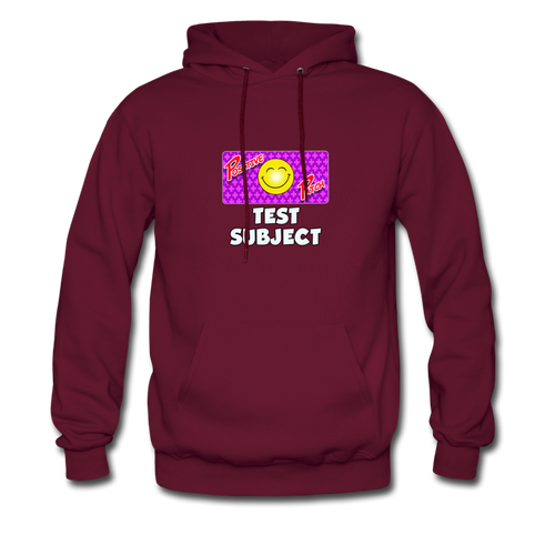 Positive Patch Test Subject - Men's Hoodie - burgundy