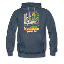 Load image into Gallery viewer, King Cotton Top Let's Fly - Men's Premium Hoodie - heather denim