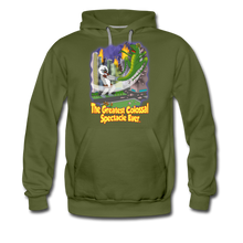 Load image into Gallery viewer, King Cotton Top Let's Fly - Men's Premium Hoodie - olive green