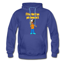 Load image into Gallery viewer, Rantdog Put Cheese On It - Men's Premium Hoodie - royalblue