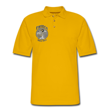 Load image into Gallery viewer, Retro Rantdog Since 1909 1909 B&W - Men's Pique Polo Shirt - Yellow